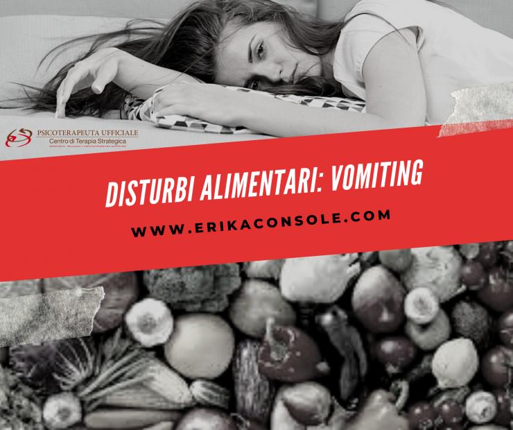 Mangiare e vomitare: da comportamento compensatorio a vero e proprio disturbo